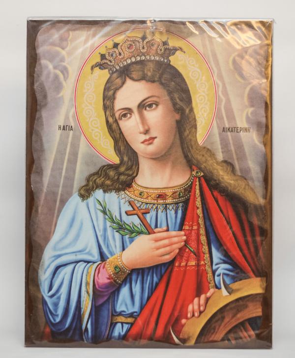 Εικόνισμα Αγίας Αικατερίνης