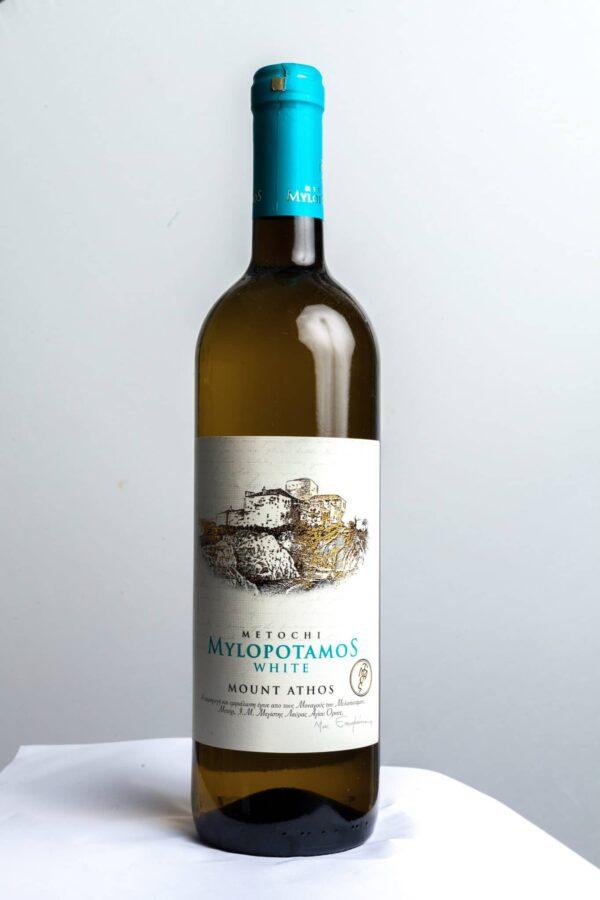 Λευκό Ξηρό Αγιορείτικο Κρασί