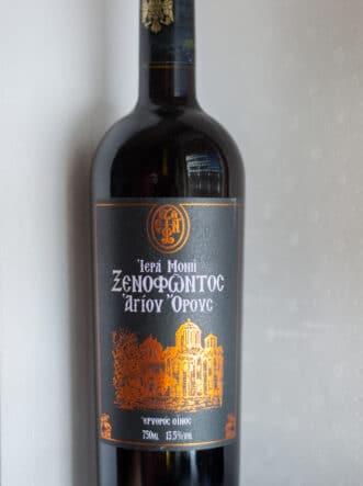 Κόκκινο Μοναστηριακό Κρασί