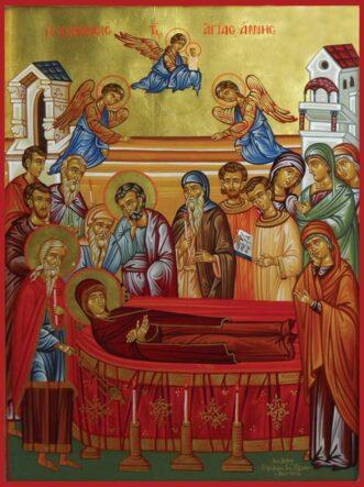 Εικόνα η Κοίμηση της Αγίας Άννας
